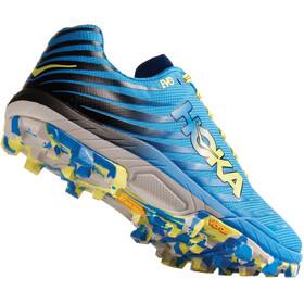 Hoka One One Evojawz Running Shoes Dame cyan/citrus